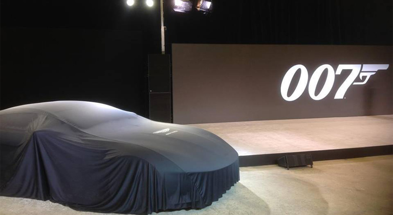 Next James Bond movie announced, Bond gets awesome new car!