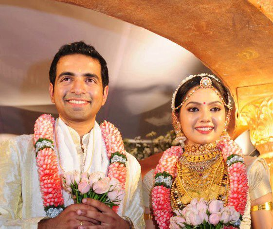 Actress Samvrutha Sunil Ties Knot