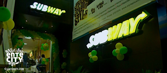 Subway outlet in StylePlus