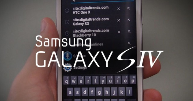 Photos of the Samsung Galaxy S4 leaked on Chinese forum
