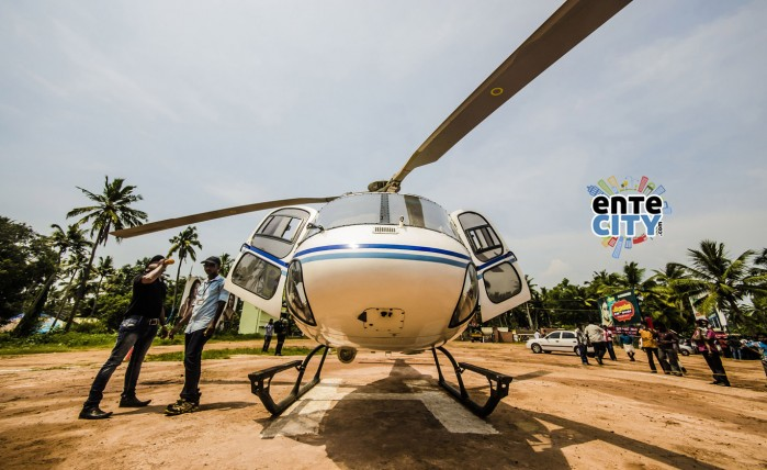 Heli Tour in Trivandrum: Clicks By: Hareesh Jayakumar