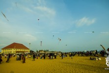Kite festival at Sangumukham Trivandrum