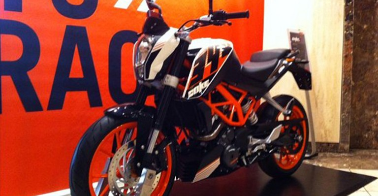 KTM 390 Duke Price in India expected to be 2Lakhs
