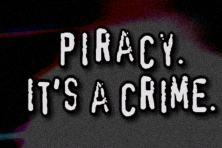 Piracy is a Crime.