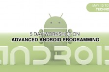 5-day Workshop on Advanced Android Programming