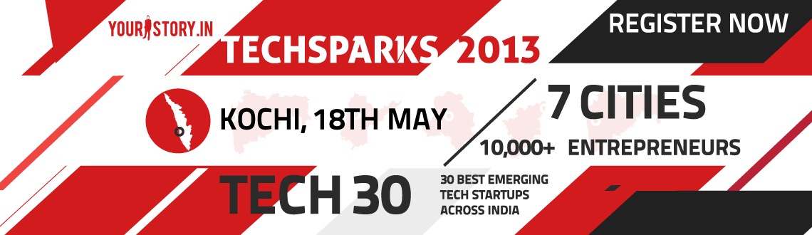 TechSparks'13 to be held at Kochi