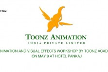 Animation and visual effects Workshop by Toonz Academy