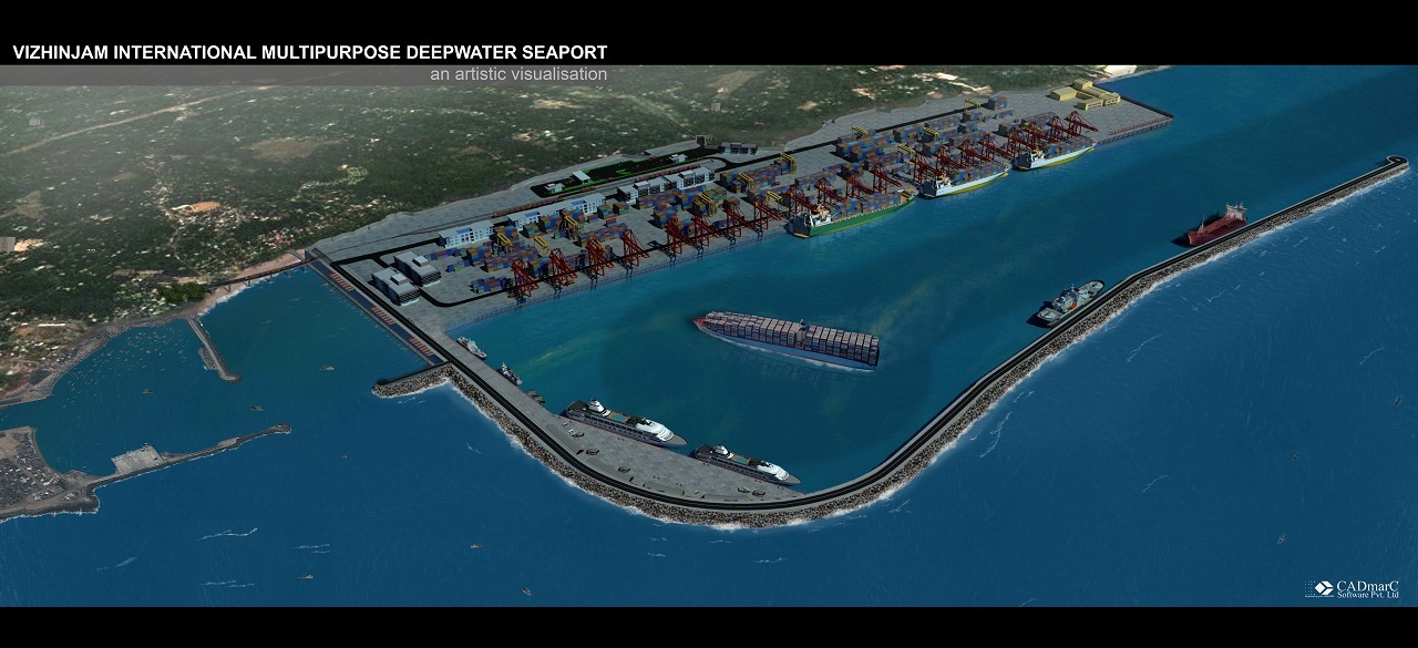 Vizhinjam project takes another leap