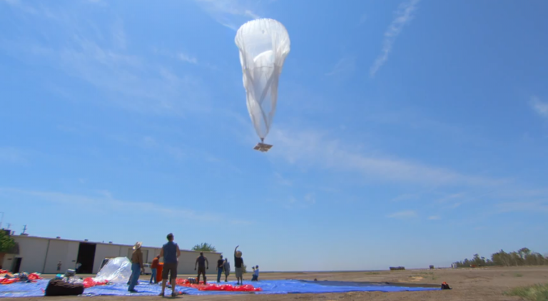 Google project loon india