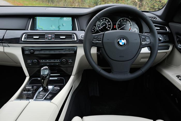 BMW 7 Series-Active-Hybrid Dashboard