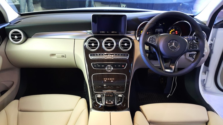 Mercedes-Benz C Class Dashboard