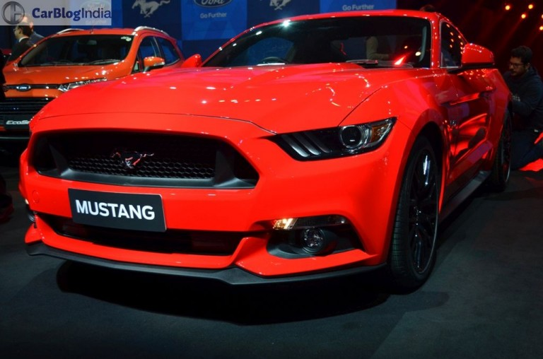 Ford Mustang front grille