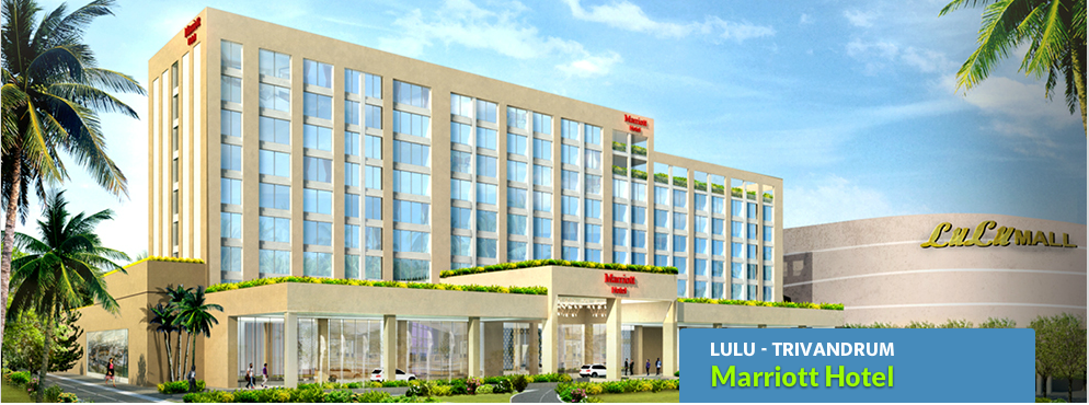 Lulu Mall Trivandrum and hotel