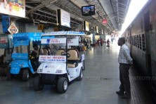 Ferry Carts in Bangalore Railway Station (Photo: powersport.net.in)