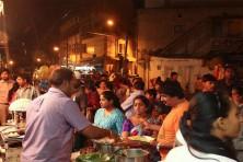 Thindi Beedi Street in Bangalore