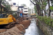 Road widening in progress, Photo Credits:  ASGeorge, SSC