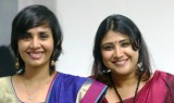 Aardra (Left) and Gayathri (Right)