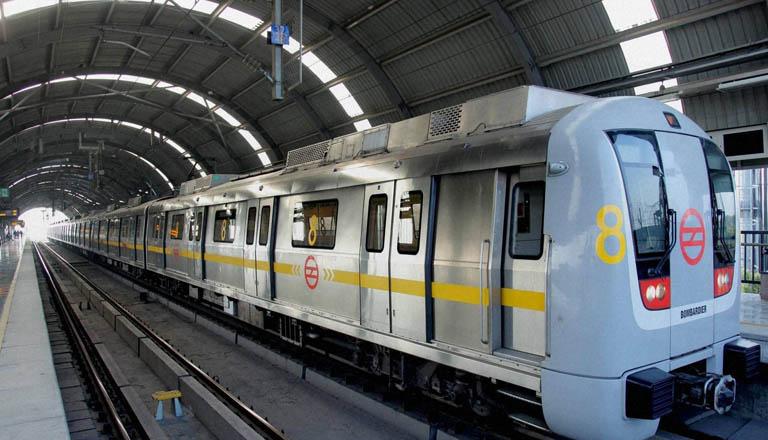 Picture of Delhi Metro, Source: Economic Times